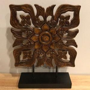 Decorative wood piece